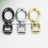 Горячие крюк кнопки круга сплава 8 цинка сбывания сформированный для собаки мешка ворота поводка закрепляет промотирование (Bl0844, 0846, 0846-2)
