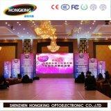Visualizzazione di LED dell'interno dell'affitto dello schermo di colore completo di HD P3.91 SMD
