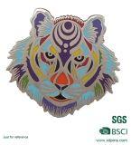 La fábrica de metal personalizados Glitter Animal insignia de solapa