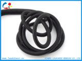 Chaîne de caractères élastique de lien étroit rond noir pour la compensation de cargaison