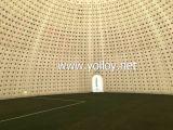 20м диаметром герметичной надувной купол палатки