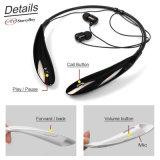 Écouteur sans fil de vente chaud Hbs800 d'écouteur de Bluetooth de noir d'écouteur