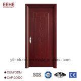 PVC木製のベニヤの単一の木の浴室のドアのポーランド人デザイン