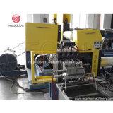 Granulación que introduce de la tolva de las etapas de los PP dos reciclando la máquina