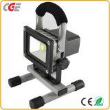 세륨 승인되는 IP65 10W 20W 30W 50W 재충전용 LED 투광램프 고품질 LED 램프