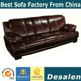 Sofa à la maison moderne de cuir véritable de meubles de la meilleure des prix usine de la Chine (B. 939)