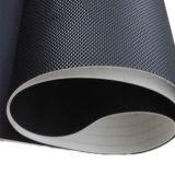 PVC noir Golf course sur tapis roulant courroies transporteuses/diamant avec faible bruit Pbf-B24/N