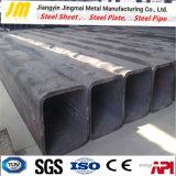 Q345 낮은 합금 대직경 두꺼운 벽 사각 배관 구렁 단면도