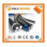 El PVC ignífugo libre del halógeno forrado aisló el cable de transmisión de dc 300m m del Pin de Malasia 2 del cable de transmisión de 1.5m m
