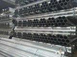 A36円形の穏やかな鋼鉄は熱い浸された電流を通された鋼鉄金属の管を溶接した