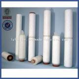 Mikron-Kinetik-PP/PVDF/PTFE/Pes/Nylon/N66 gefalteter Filtereinsatz für medizinischen Gebrauch