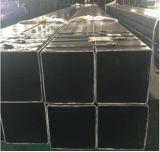 ERW schwarzes geschweißtes Sqaure rechteckiges hohles Kapitel-Kohlenstoffstahl-Rohr