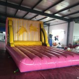 PVC Tarpaulin Sports Range Inflatable Toy Toilets