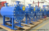 Acciaio inossidabile di raffreddamento dell'acqua/olio/birra/latte, scambiatore di calore di titanio