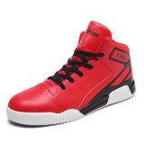 De Schoenen van de Sport van het Basketbal van de populaire Nieuwe Rode Mensen van de Schoenen van de Kleur Openlucht Toevallige, de Hoge Hoogste Mensen van de Basketbalschoenen van Trainers