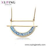 43904 collana araldica della farfalla di lusso di colore dell'oro di modo 18K di Xuping