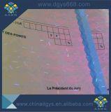 Het UV Onzichtbare Certificaat van de Graad van het Document van het Watermerk van de Vezel