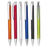 Горячая продажа высокое качество моды поощрение пропагандистской рекламы дешевые Multi пластмассовые металлические с указателем шариковый шариковой ручки
