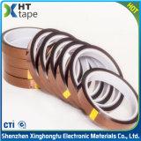 Le double ambre de bande de doigt d'or de température élevée de collants a dégrossi bande antistatique de Polyimide