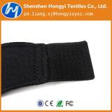 Nastro elastico nero registrabile del fermo del ciclo del bene durevole di nylon
