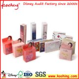 Boîtes-cadeau de empaquetage de papier pour les produits de beauté cosmétiques