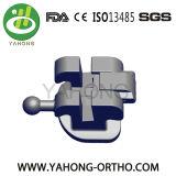 Mini Roth de una pieza ortodóntico 022 corchetes con la marca del laser