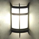 Klassische Metallinnenhupen und Farbband-Acrylglas-Wand-Leuchter