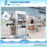 Máquina de etiquetado de consumición automática de la funda del encogimiento del PVC de la botella
