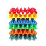 異なったカラーの顧客用プラスチック皿型