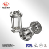 Gesundheitlicher festgeklemmter Anblick-Glas-Preis des Edelstahl-304/316L