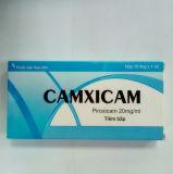 L'injection occidentale de Piroxicam de médecine utilisée pour soulagent la douleur