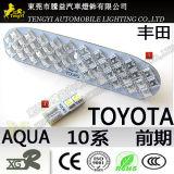 12V 자동 차 Toyota 물을%s 실내 돔 독서 LED 룸 빛 램프 10의 시리즈 정면
