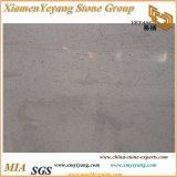 白い水晶人工的な水晶石の台所カウンタートップ(YY-MS197)