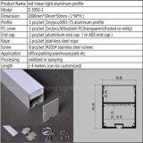 50мм*50мм светодиодные линейные лампы алюминиевый профиль