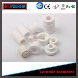 Tubo alineado de cerámica del alúmina resistente de la abrasión