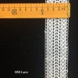 garnitures en soie de lacet de lait de 4.5cm pour des femmes vêtant les garnitures Hmhb1028 de crochet