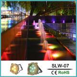 Corpo em latão 7,5W Piscina com iluminação de LED à prova de água