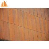 Revêtement composé de cuivre de fasce de façade