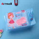 Hembra de la fábrica China toalla sanitaria las pastillas de 300 mm.