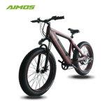 ブラシレスモーターを搭載するアルミ合金26inchの脂肪質のタイヤEの自転車