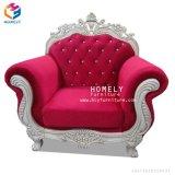 Sofà classico della mobilia del salone di prezzi di fabbrica con il sofà di cuoio