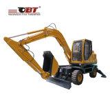 Piccolo mini escavatore della rotella utilizzato dell'azienda agricola escavatore da vendere