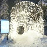 Decoratie van Kerstmis van de reuze LEIDENE Lichten van het Koord de Commerciële Openlucht