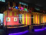 Lle stalle laterali esterne di lusso variopinte/cabine dell'un dei bambini di pallacanestro del supervisore gioco di carnevale