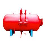 Sistema vertical del tanque de la espuma del fuego de la vejiga para el estacionamiento subterráneo