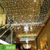 巨大なLEDストリングは屋外商業クリスマスの装飾をつける