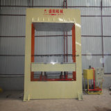 유압 목제 박판으로 만드는 기계 1200*2400mm 합판은 베니어 /400t 유압 찬 압박 기계를 위해 Pre-Press
