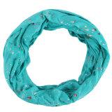 Neue Entwurf Frauen-bunter bronzierender Form-runder Schal