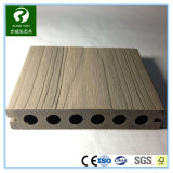 Trou rond en plastique en bois composite WPC Decking avec SGS de l'approbation
