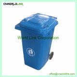 360 L scomparto di immondizia diritto dell'HDPE del grande volume con il coperchio